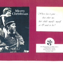 Christmas Card-Alaska Rep Theatre 30